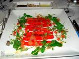 SOFITEL WENTWORTH SYDNEY - PHOTO 3 DINNER GARDEN COURT RESTAURANT. STARTER OF TASMANIAN SALMON